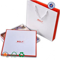 Customize any plates scarves paper packaging box