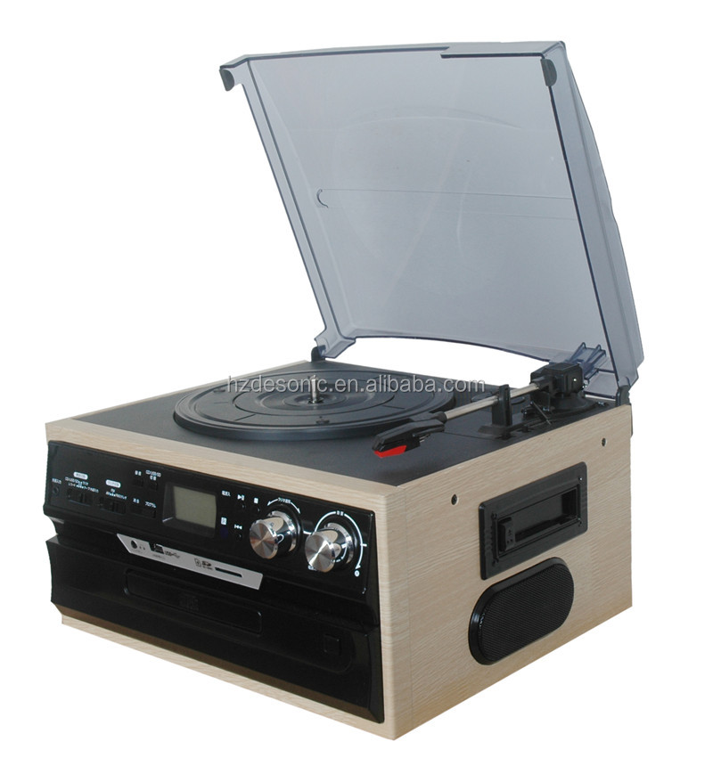 Klasik video gramophone vinyl record player grosir