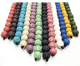 Wholesale Natural Multi-color Essential Oil Diffuser lava stone beads