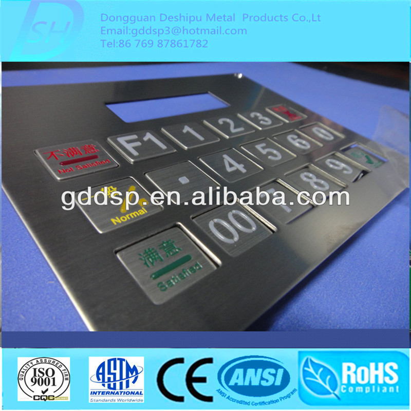 Anodizing Aluminum Faceplate Producing
