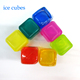 Plastic Material and PS Plastic Type ice cube Reusable plastic ice cube