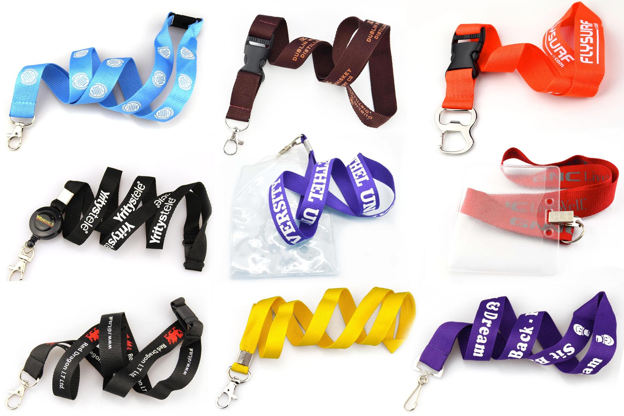 Lanyard Manufacturer Free Sample Promotional Cheap Custom Printed Polyester Neck Lanyard With Logo