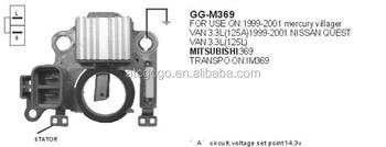 Alternator Regulator 12 Volts For Mitsubishi 369 Vr-h2009-108 ...