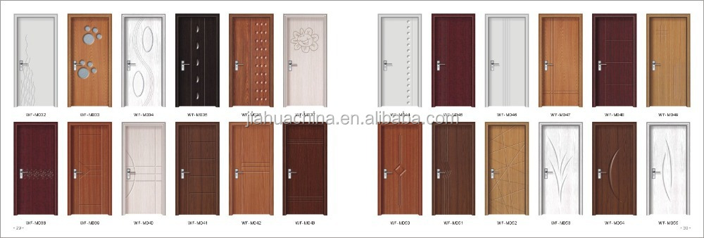 New design high quality wooden doors hotel rooms inner for Wood door design catalogue