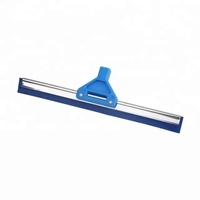 shower squeegee stainless steel with silicone squeegee blade
