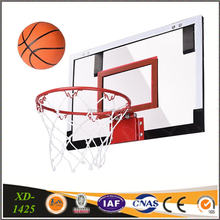 Mini Office Basketball Hoop Set, Backboard, Steel Hoop, Rubber Basketball