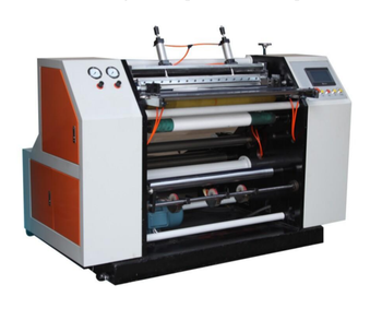 High Speed Thermal Small ATM Paper Roll and POS Paper Roll Slitting Machine