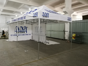 3x6m high quality printed folding tent / outdoor advertising Alum Frame canopy