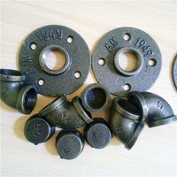 Malleable Ductile Cast / Casting Black / Galvanized Iron Pipe Fitting 90 elbows