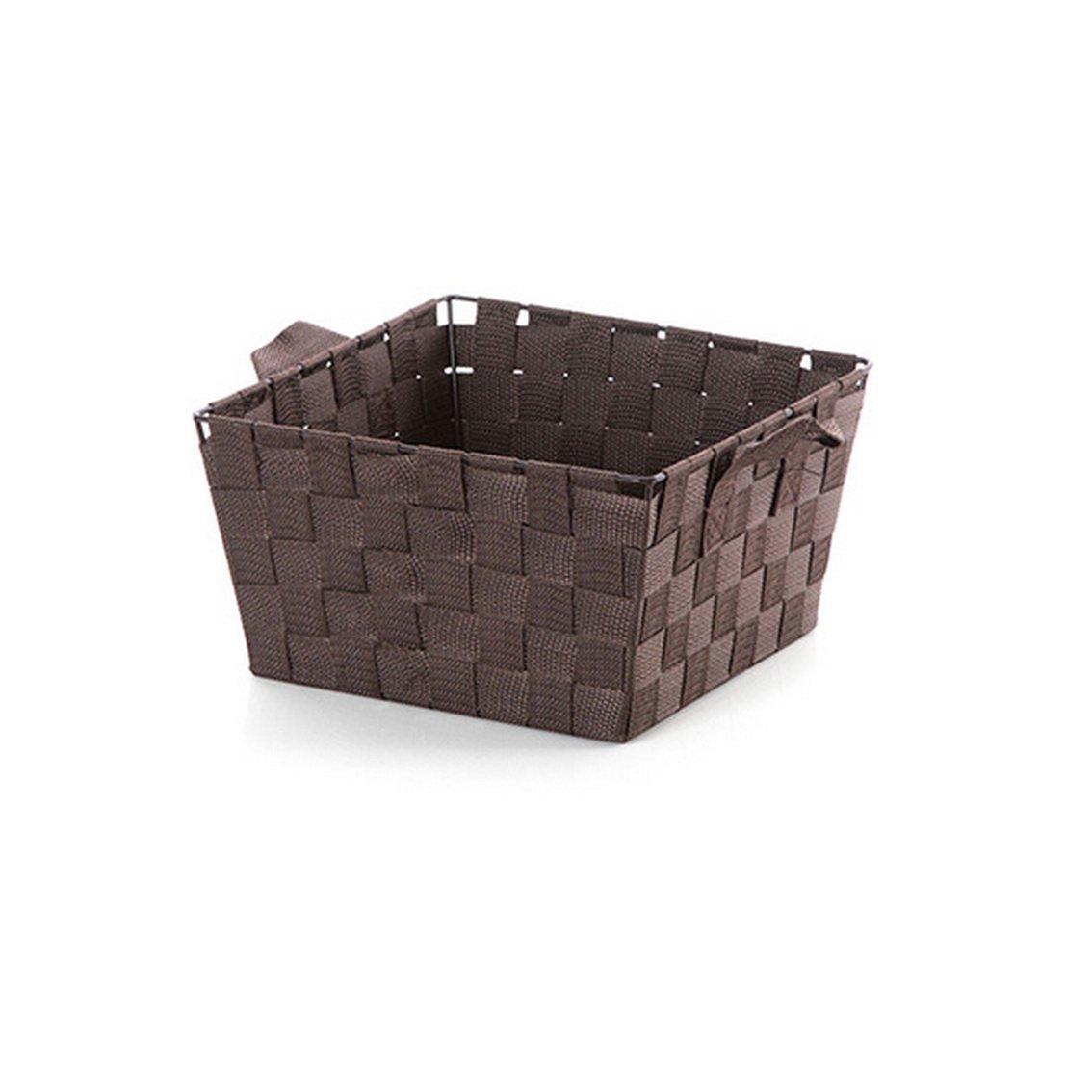fengg2030shann Cloth weaving storage baskets bathroom kitchen table storage basket storage rectangular box basket weaving basket Baskets storage baskets storage baskets woven baskets