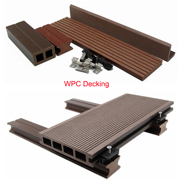 Y star wpc outdoor wpc decking wood plastic composite for Plastic composite decking