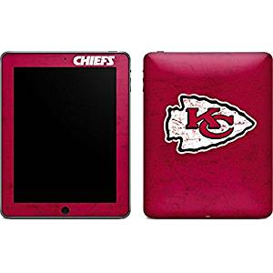 NFL Kansas City Chiefs iPad Skin - Kansas City Chiefs Distressed Vinyl Decal Skin For Your iPad