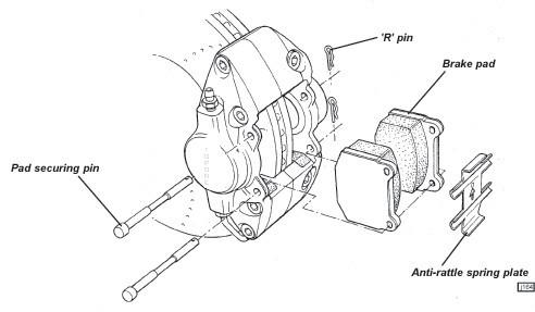 Car Parts For Kia K2700 Brake Pad 0k70y3328z 5d3047m D11998319 – Kia K2700 Engine Diagram
