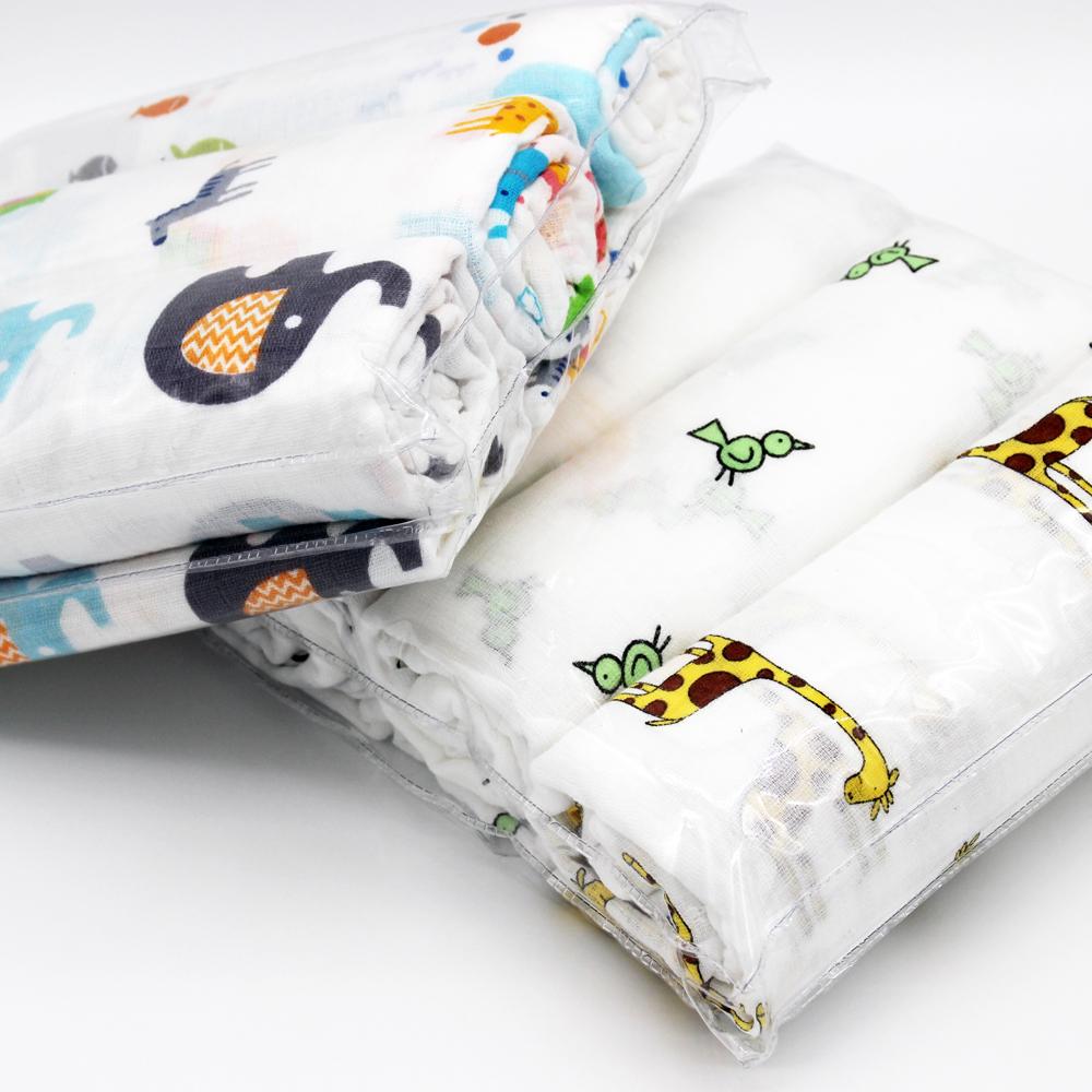 100% Organic Cotton 120*120 Cm Very Soft Muslin Baby ...
