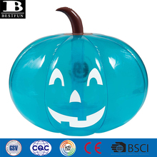 Eco-friendly <span class=keywords><strong>vinile</strong></span> gonfiabile jumbo Halloween teal <span class=keywords><strong>zucca</strong></span> decorazione del partito