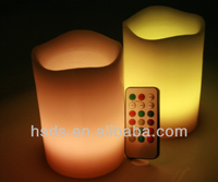 flameless paraffin wax rainbow color fancy birthday candles