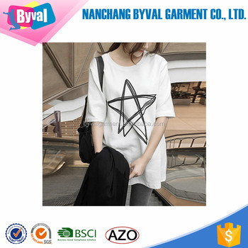 9ac1ca6b383 Wholesale Womens Extra Large Size Cotton T-Shirts For Printing Round Neck  Oversized Tee Shirts