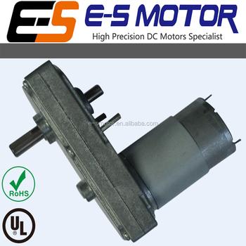 Dc flat spur gear motor 12 24v parallel shaft low speed for 24v dc motor high torque low speed