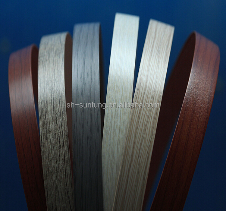 Laminate pvc plastic edge protector laminate edge banding for Abs trimming kitchen cabinets