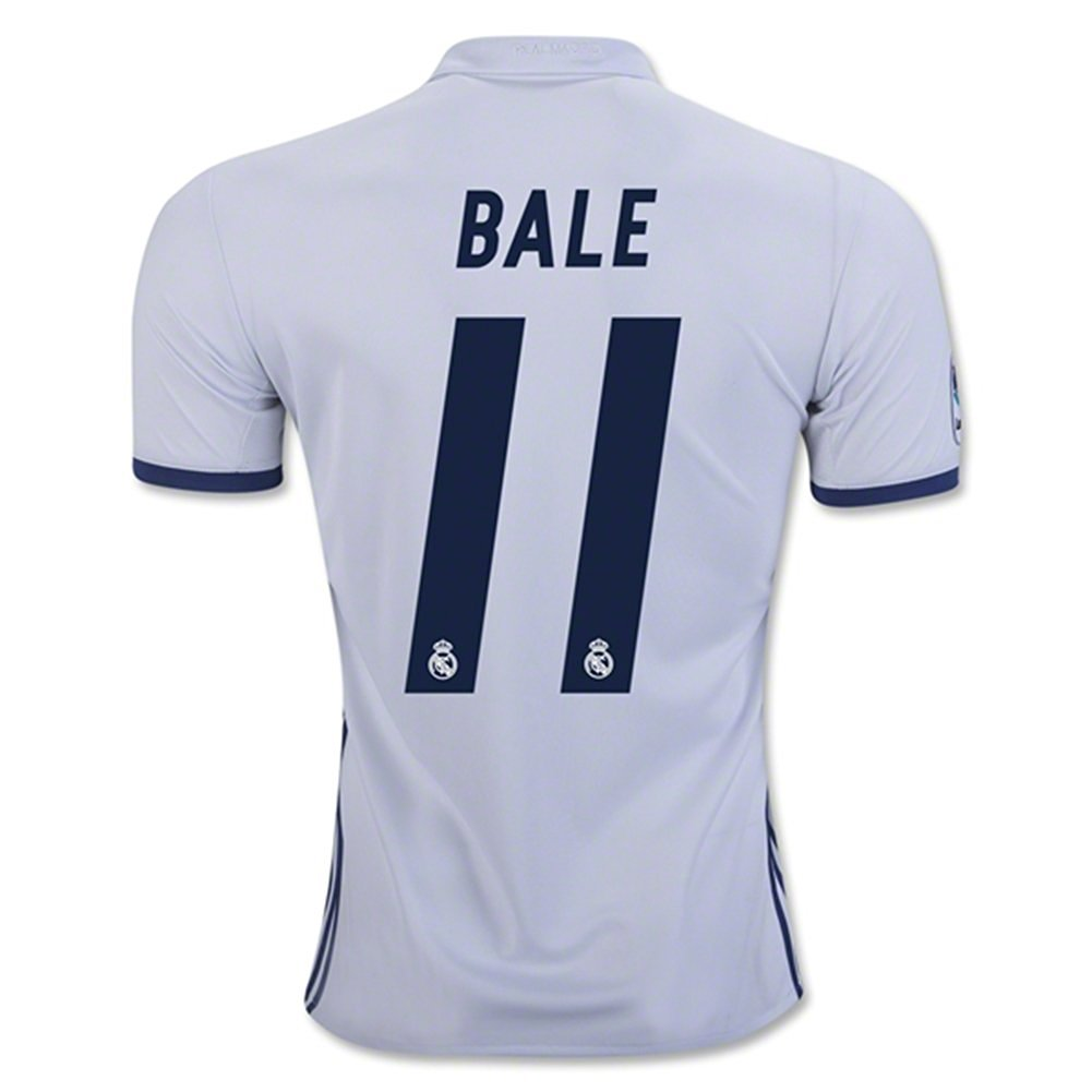 Get Quotations · Real Madrid 2016 17 New Season 11 GARETH BALE Home Soccer  Jersey 1c6cfd55b