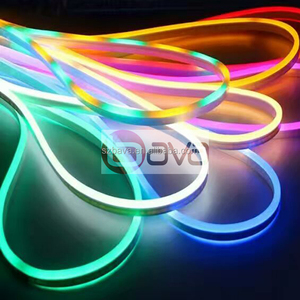 LED light strip wholesale ultra thin 14*26mm neon strip 360 degree 24v 12v addressable smd 5050 rgbw led neon flex