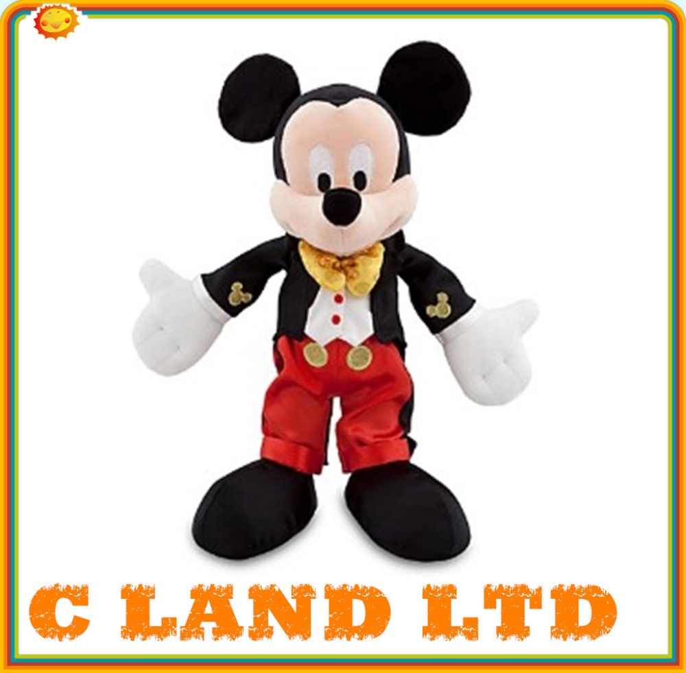 Christmas Minnie Mouse Plush.Lovely Christmas Mickey And Minnie Mouse Plush Toy Buy