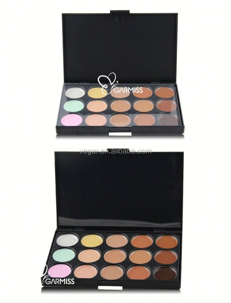 makeup concealer palette private label make up contour 15 color concealer palette