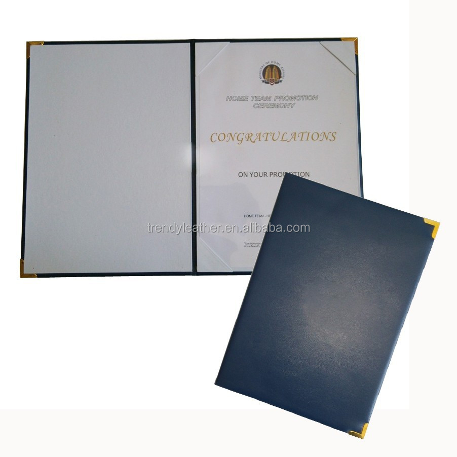 China Certificate Folder China Certificate Folder Manufacturers And