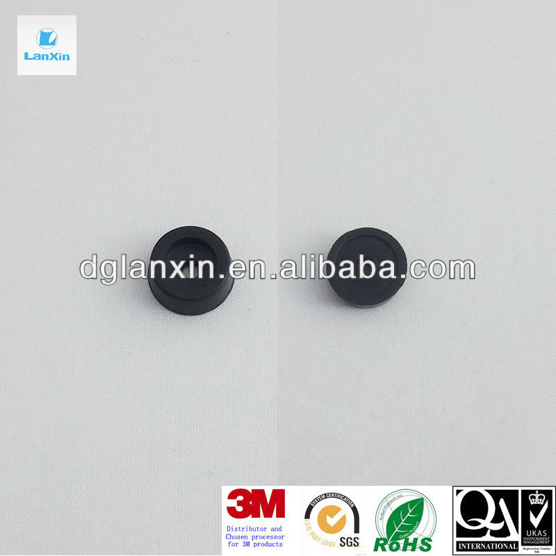 EPDM/SR/NBR molded rubber feet for household appliances