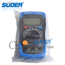 Suoer Multimeter Tester Capacitance Meter Digital Multimeter