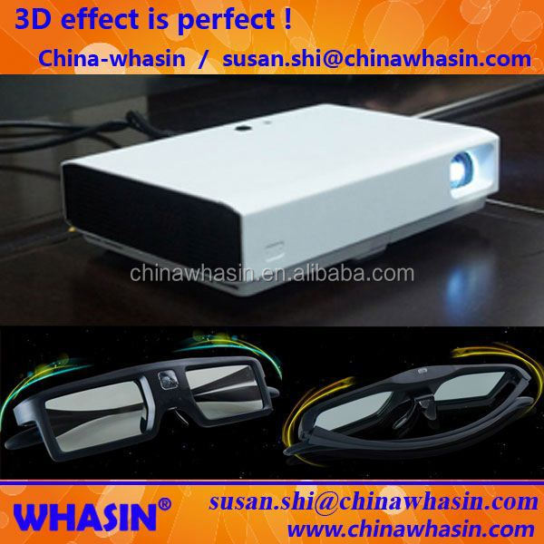 DLP 3800 Lumens XGA Multimedia Full HD Projector Max 300inch Image Long Lamp Life For Education And Office