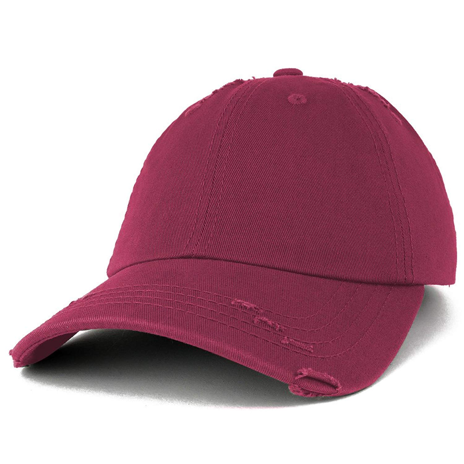 4890292741c Get Quotations · Vintage Frayed Unstructured Adjustable Polo Cap