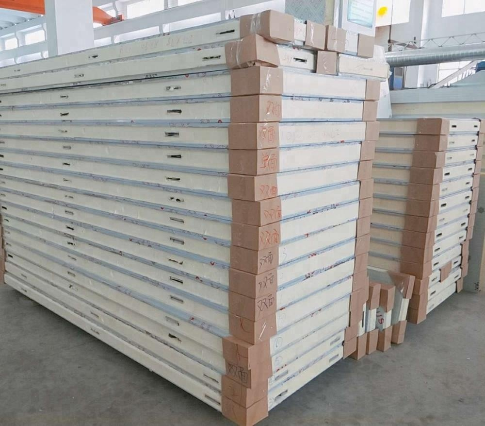Polyurethane Heat Insulation sandwich <strong>Panel</strong>/PU Foam PU <strong>Panel</strong> for Cold Room/PU sandwich <strong>panel</strong> for prefabricated house for