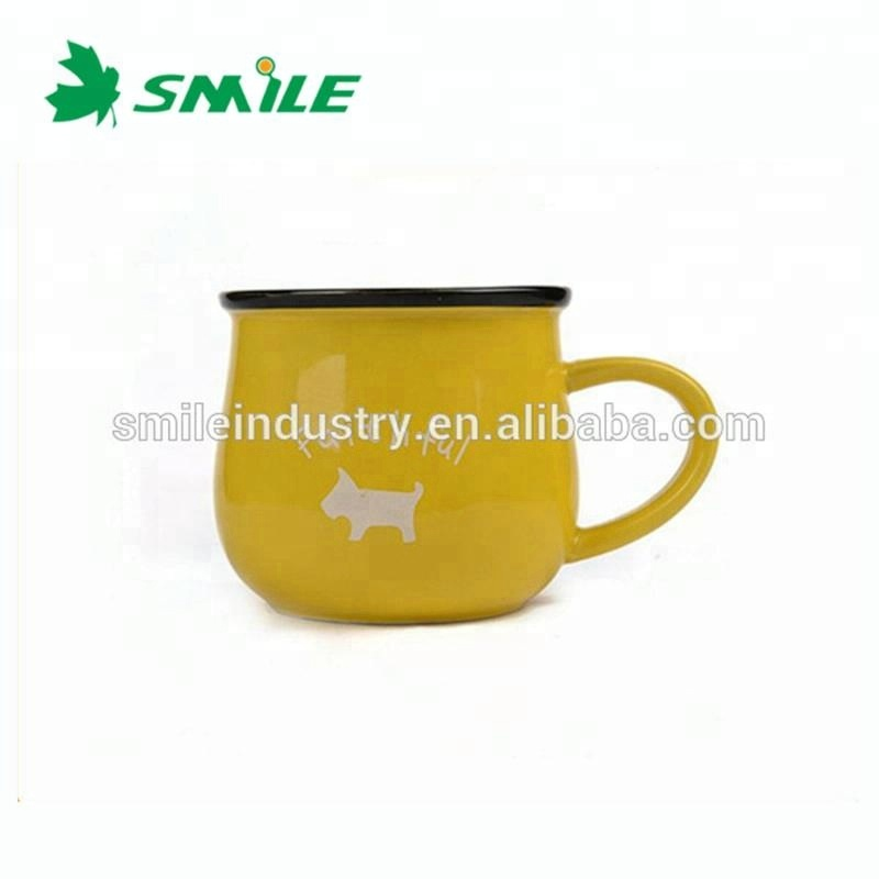 Cheap Promotional Vintage Breakfast Milk Porcelain Coffee Cup