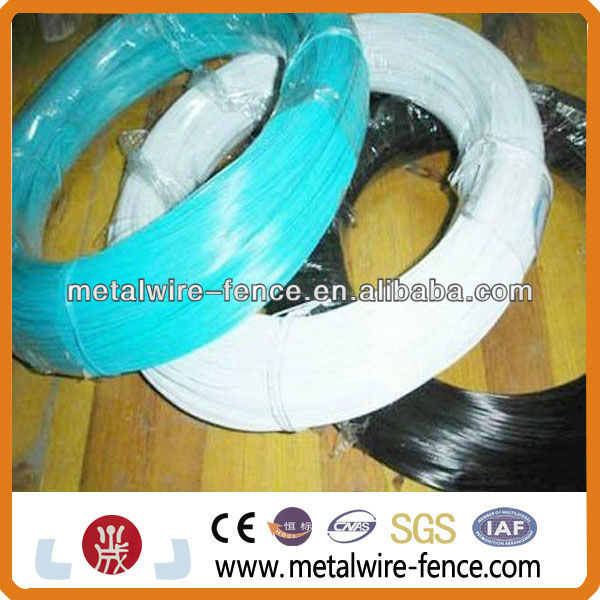 PVC coated steel binding wire