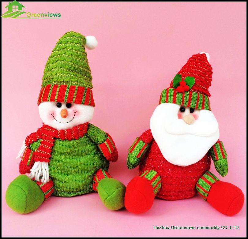 Christmas Tree Toys Handmade.Christmas Elf Soft Toy Handmade Plush Christmas Toys Sitting Doll Snowman Santa Claus Toys Buy Christmas Sitting Santa Claus Christmas