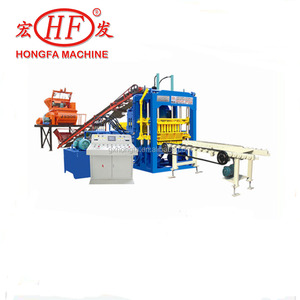 sell HFB580A type concrete cement hollow block making automatic machine