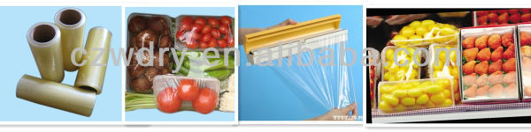plastic wrapping film, PVC food grade stretch wrap film