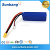 high discharge current 20C 4S 14.8v 2650mah lipo rc battery for boat inflatable boat rc