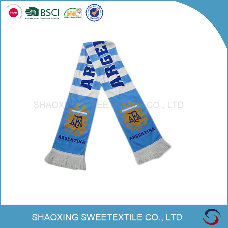 China Manufacturer Winter Polyester Fan Printed Scarf