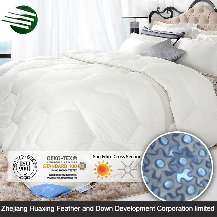 High Quality Home Bedding White Hollow Fiber Sun Fiber Polyester Quilt