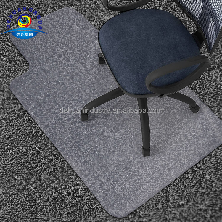 1.5mm Thickness For Hard Wood Floors Home Office Rolling Chair Desk Non-slip High welcoming Rstant Chair Mat For Floor Protection Chairs Move Smoothly 60X90cm Rectangle Hard Floor Protector Mat