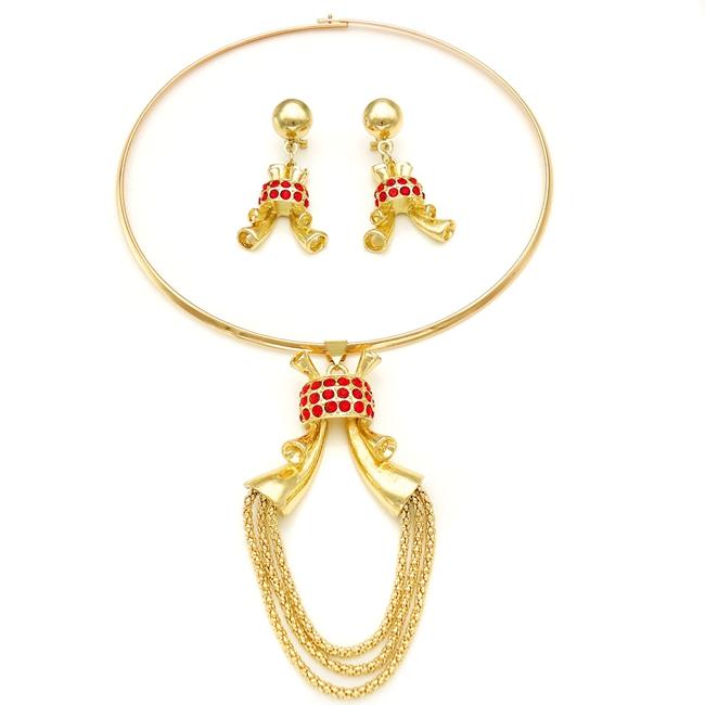 Popular Fashion Jewelry Set Professional Design Multicolor Modern