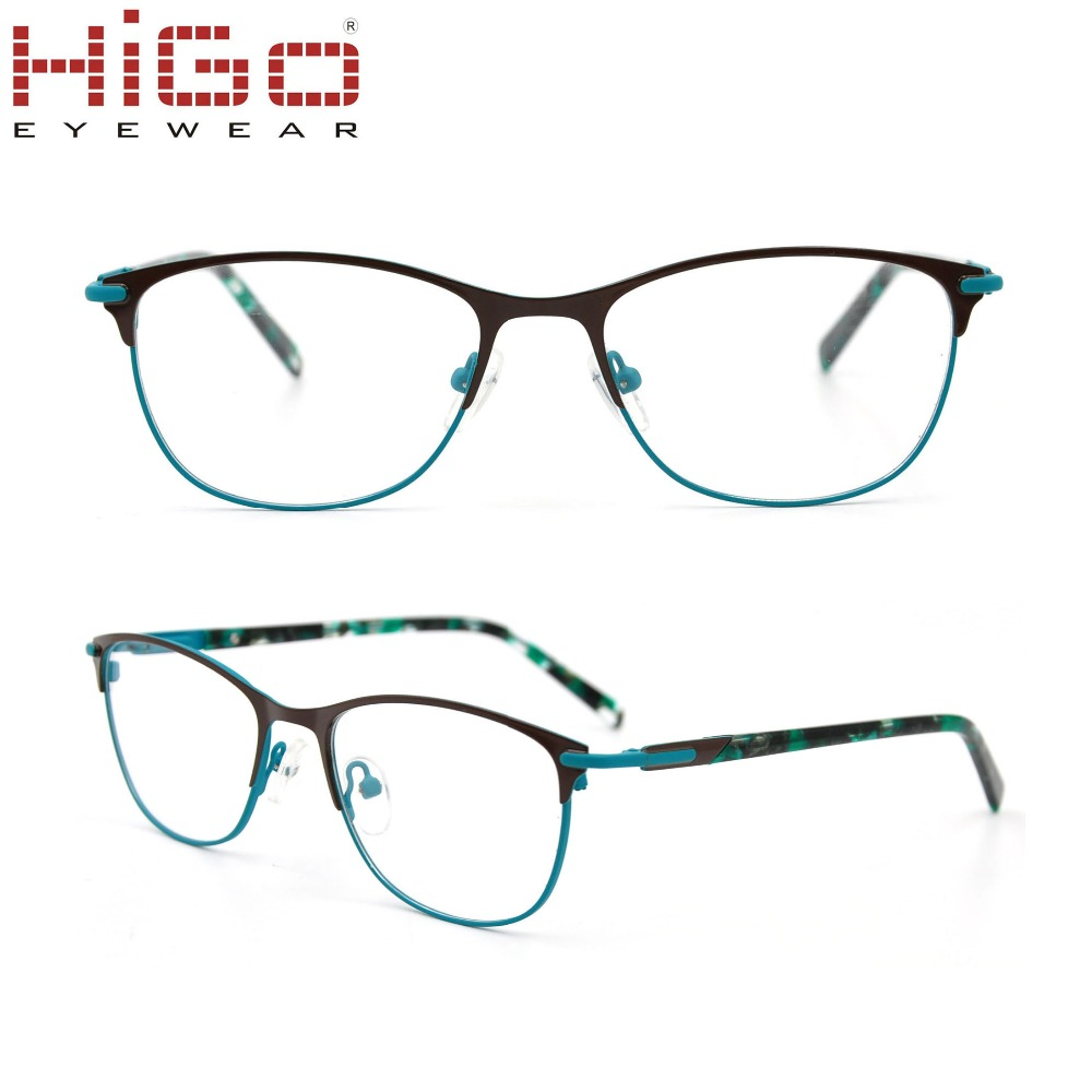 New Arrivals 2018 Full-Rim Higo New Hot Sale Stainless Steel Polishing Material Metal Eyewear Eye Glass Frames