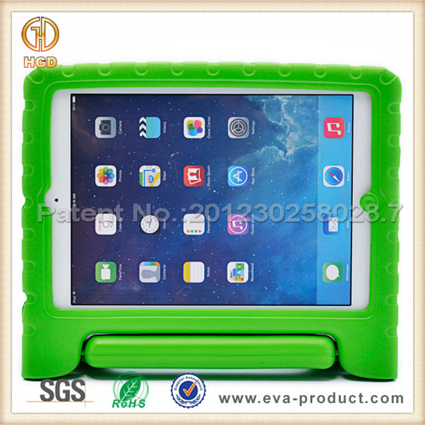 Cover for ipad air shockproof kids eva foam table case for iPad 5 with convertible handle stand