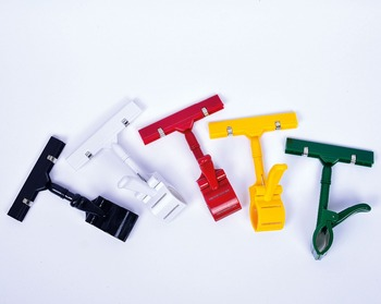 Shopping mall POP Price holder Clip