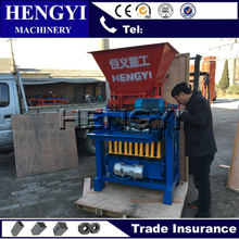 high quality qt4-35 fly bricks machine/cost of fly ash bricks