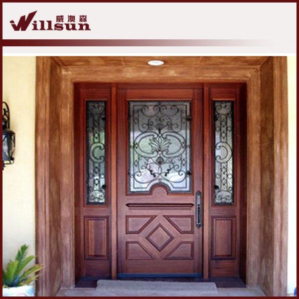 Guangzhou Wood Iron Doors Front Main Door Design Buy Guangzhou