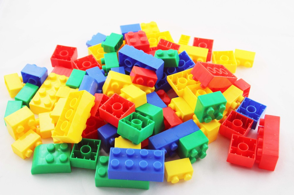Hot selling small building plastic blocks for preschool - Construcciones de lego para ninos ...