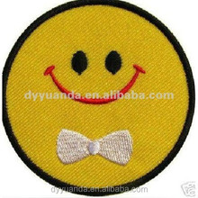 Embroidered Letter t shirt patch for clothing